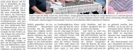"""Zeitungsartikel """"2 Orden"""""""