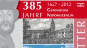 Titel Feschrift 385 Jahre Nepomuc 2013
